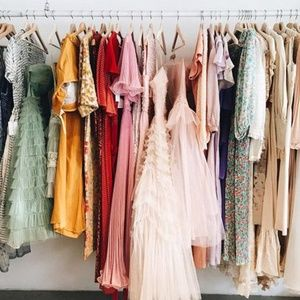Dresses, Skirts, and Jackets!